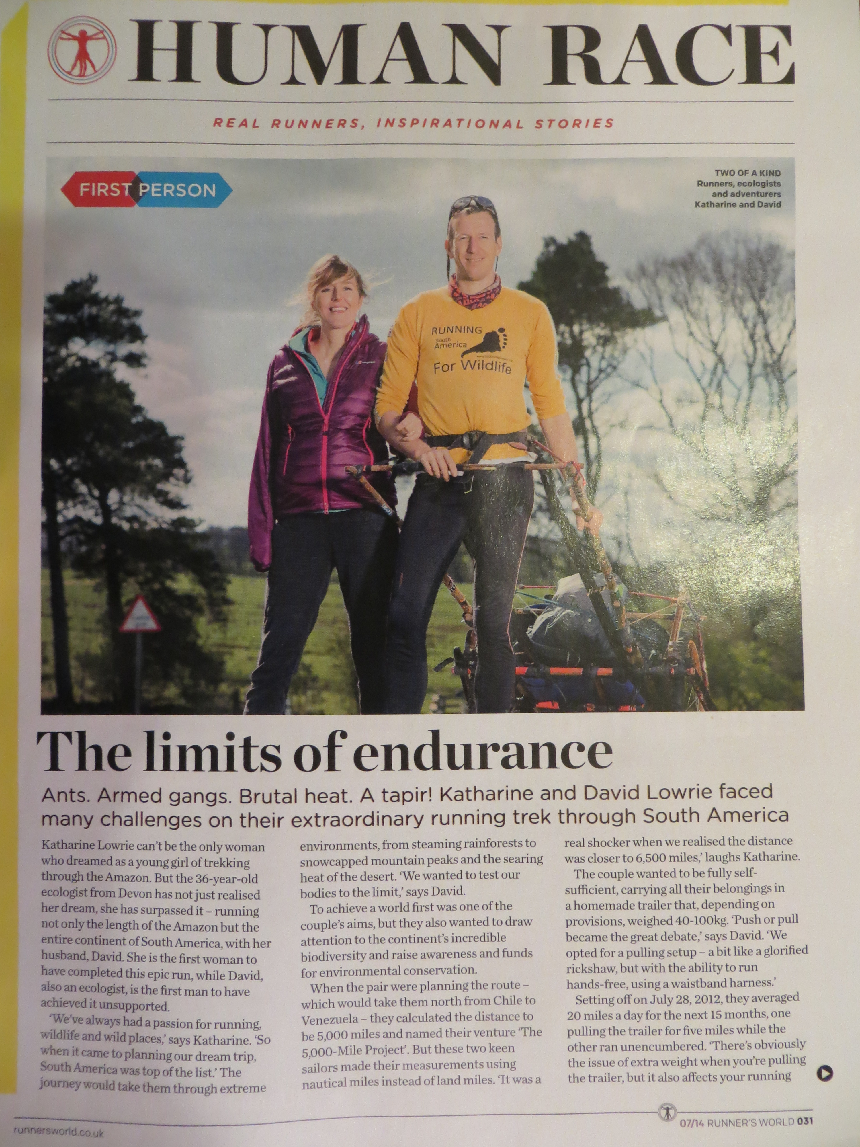 Runner's World 1 July